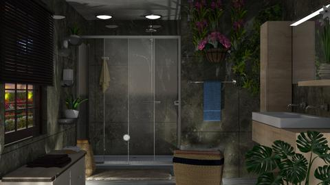 S_Fonce - Bathroom  - by Shajia