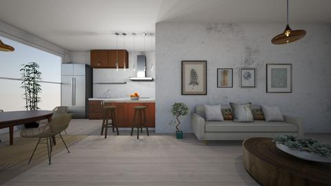 Salon - Living room  - by JulianaRolon