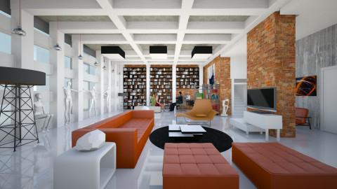 Modernism in XXL - Modern - Living room  - by Ida Dzanovic