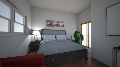 room 1 - Modern - Bedroom  - by Anoushka Patel_573