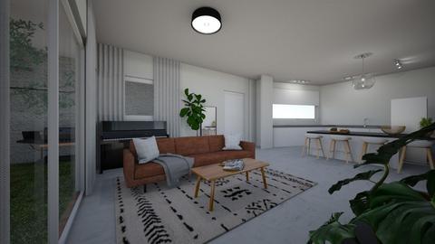 Shahaf living  81 - Living room  - by erlichroni
