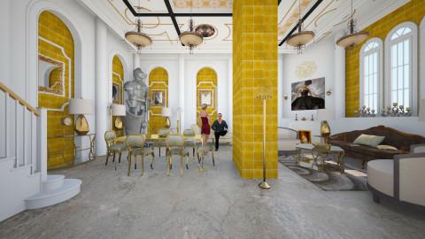 Goooold - Glamour - Dining room - by Ida Dzanovic