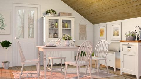 Scandinavian dining room - Eclectic - Living room  - by Sally Simpson