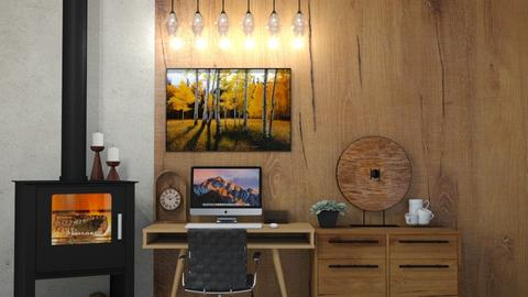 My Dream Office - Classic - Office  - by rubbaduk_