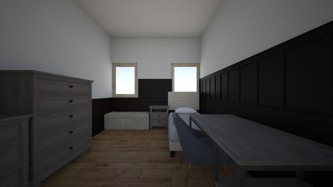 bedroom plan - by izzyseip