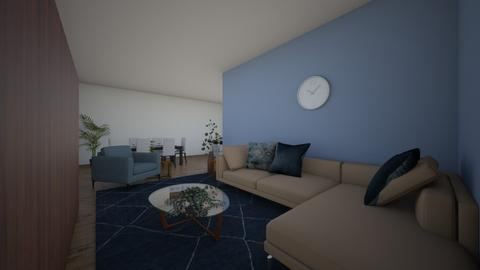 2 kitchen and living room - Modern - Living room - by 1adriana1