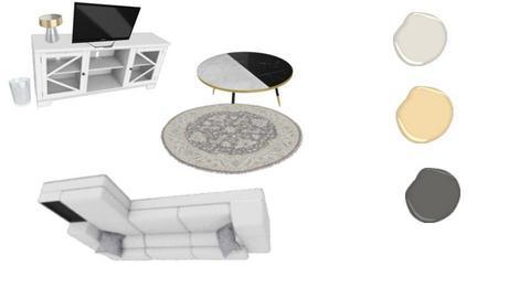 modern living room - by vazquebri