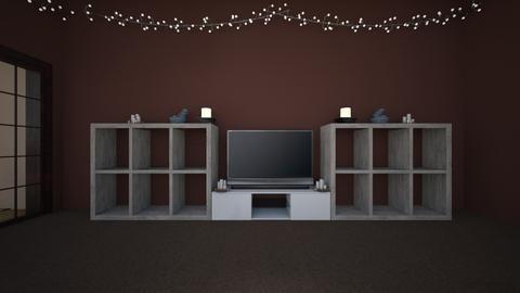 random room - Minimal - Living room  - by Hellmara