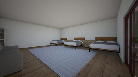 la habitacion - Modern - Bedroom  - by jeon sunie
