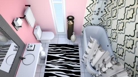 Pink Bathroom - Glamour - Bathroom  - by 726EE1DD15630B0854426E5D5CE6EADEC62