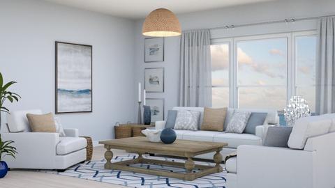 Coastal Living Room_Proj - Living room  - by Ashlee_wx
