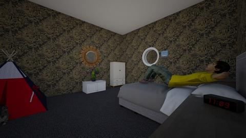 own house - Bedroom  - by clayson