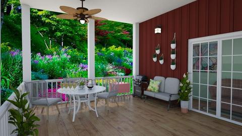 Summer Porch - by KarJef