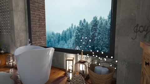 winter - Bathroom  - by DaniPana