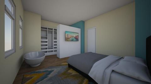 Slaapkamer DM2 - Bedroom  - by MB2021