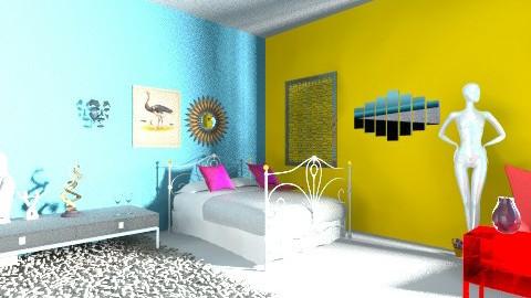 FRANCI - Country - Bedroom  - by kavkav