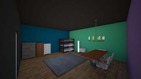 Joslyn Virgil and Luther - Bedroom - by RitchieValens640
