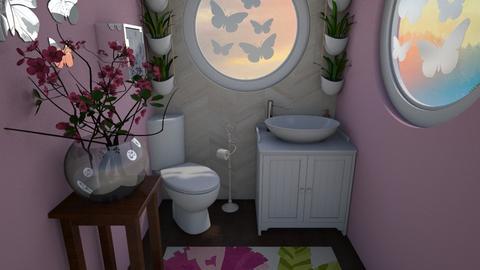 Artsy Bathroom - Bathroom  - by b sharp