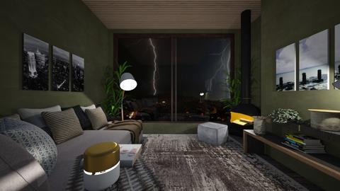 Storm - Living room  - by nanabpf