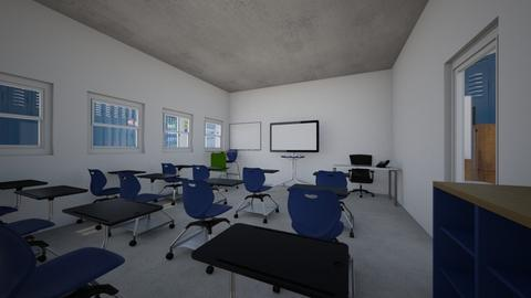 University classroom - Modern - Office  - by PeculiarLeah