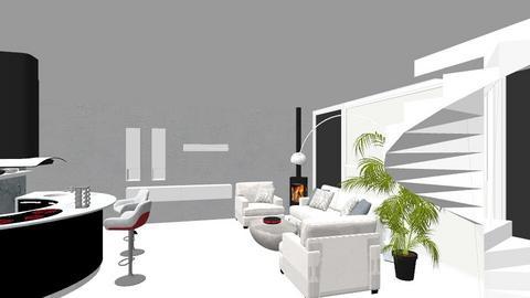 parter 0405 3 - Minimal - Living room  - by danamoroianu