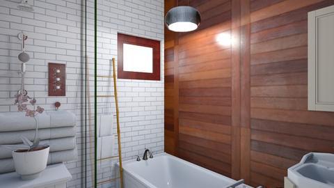 tahoe bathroom - Bathroom - by jewelduck