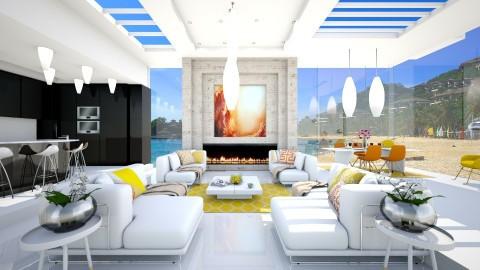 summer feeling - Modern - Living room  - by Evangeline_The_Unicorn