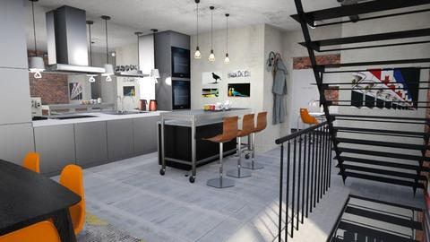 Minimal xtra  - Modern - Kitchen  - by Tree Nut