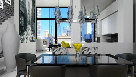 Yoo Dining  - Modern - Dining room  - by channing4
