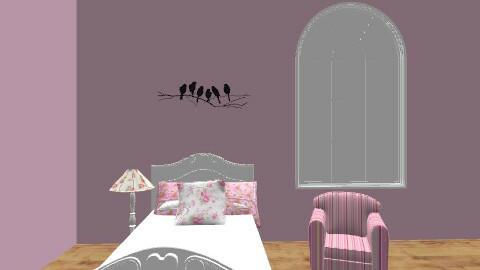Bruna de souza - Vintage - Bedroom  - by brunadss