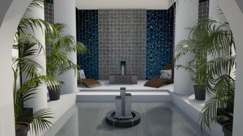 Palm  - Glamour - Bathroom  - by Habib Altamimi
