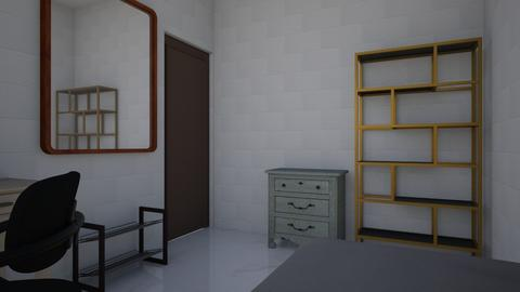 My room desing - Minimal - Bedroom  - by Zabieruuuu