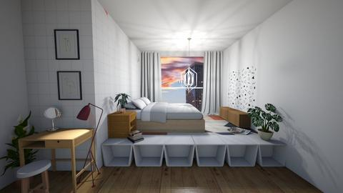 Not sure - Minimal - Bedroom - by SpookyjimKilljoy