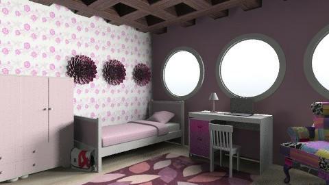 Girly Room - Modern - Kids room  - by Kwstantina Tglk