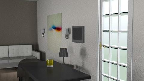 CASA MODELO 1 - 29 Oct 2010 11:33:00 AM - Minimal - Kitchen  - by cibelles