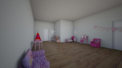 girl - Kids room  - by chloedill827