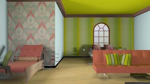 katy9898 - Retro - Bedroom  - by katy9898