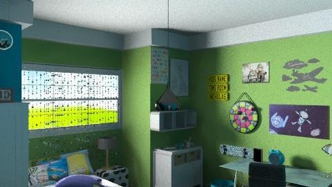 7 years old bedroom - Modern - Bedroom - by pyksio