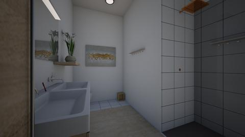 Fancy modern Bathroom - Modern - Bathroom - by HyperPiper