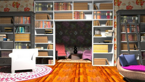 Library - Classic - Office - by TheAlgonaGirl