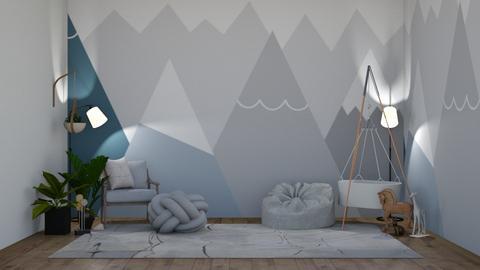 Mountain Nursery - Kids room  - by 021snoopy205