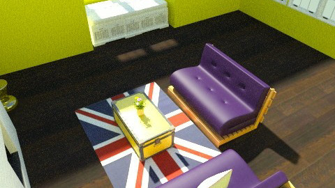Funky Living Area - Eclectic - Living room - by apbeagles