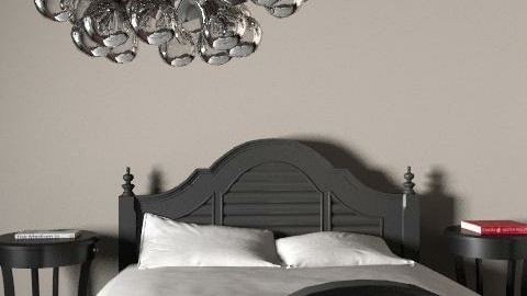 fancy black - Glamour - Bedroom  - by lena5