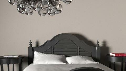 fancy black - Glamour - Bedroom  - by lena5