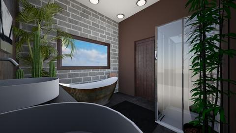 master bathroom - Modern - Bathroom - by michael36251