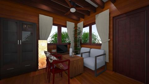wooden house 1 - by selperu