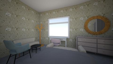 Room S - Feminine - Bedroom - by Mahmoud777