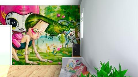 salon12 - Retro - Living room  - by yoyodesign