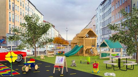 Park and Play - Garden  - by Sally Simpson