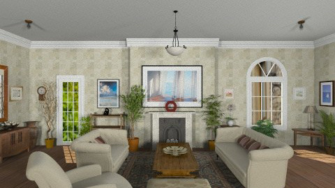 England country home - Country - Living room  - by GALE88